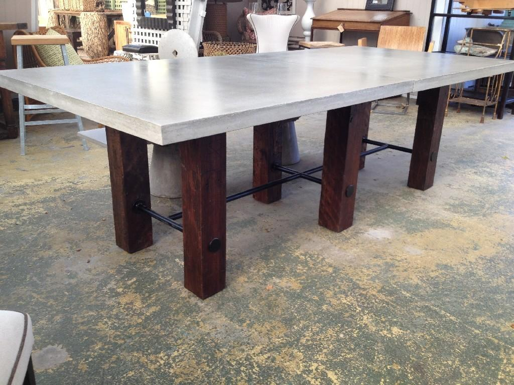 Trend Concrete Dining Tables Simple Home Decoration