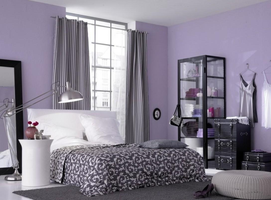 Trend Lavender Bedroom Walls Home Design Interior