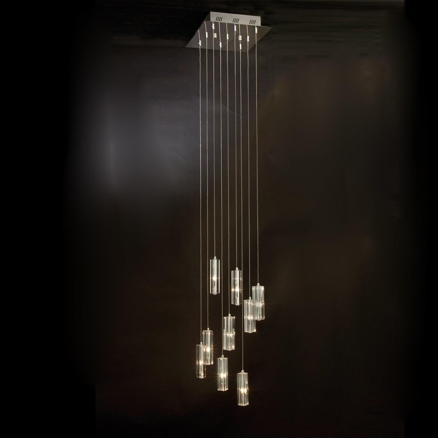 Trend Lighting A Icarus Light Falling Chandelier