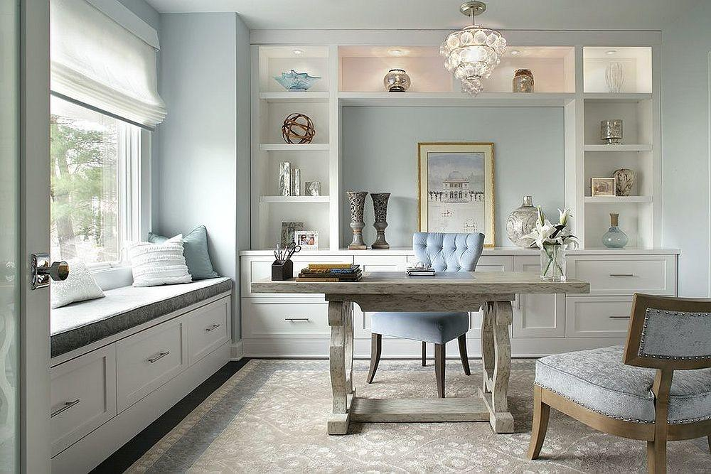 Trend Spotting Create Soothing Home Office Pastels