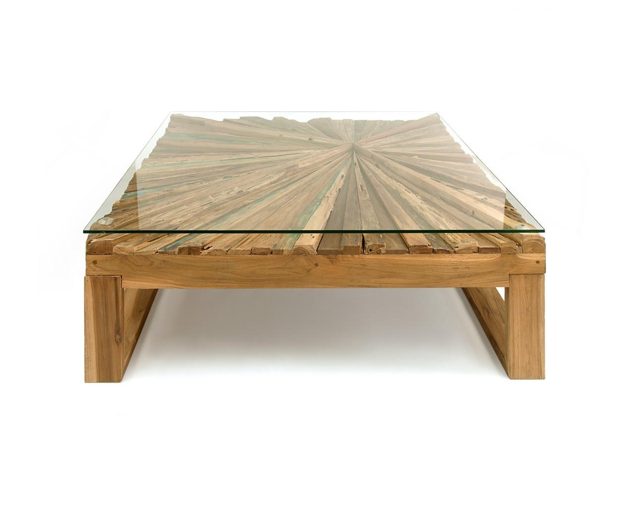 Trend Wood Glass Coffee Table Interior Decor Home