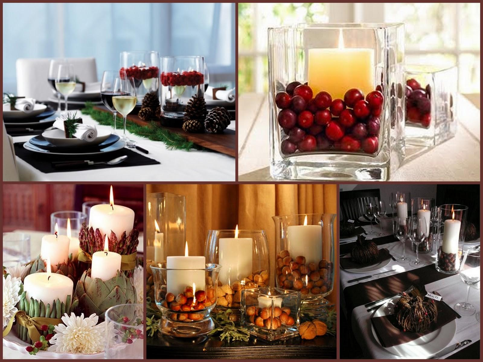 Trendee Flowers Designs Diy Candle Centerpiece Decor