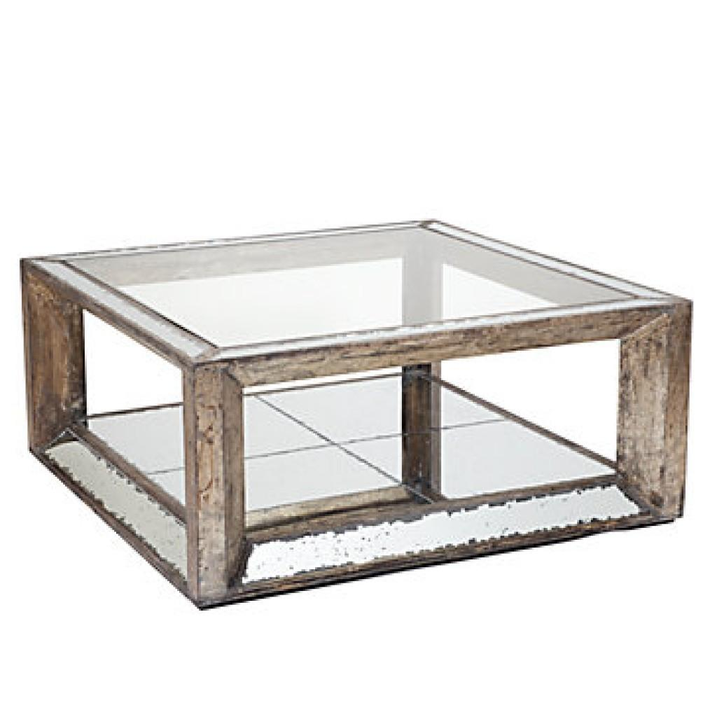 Trends Modern Mirrored Coffee Table