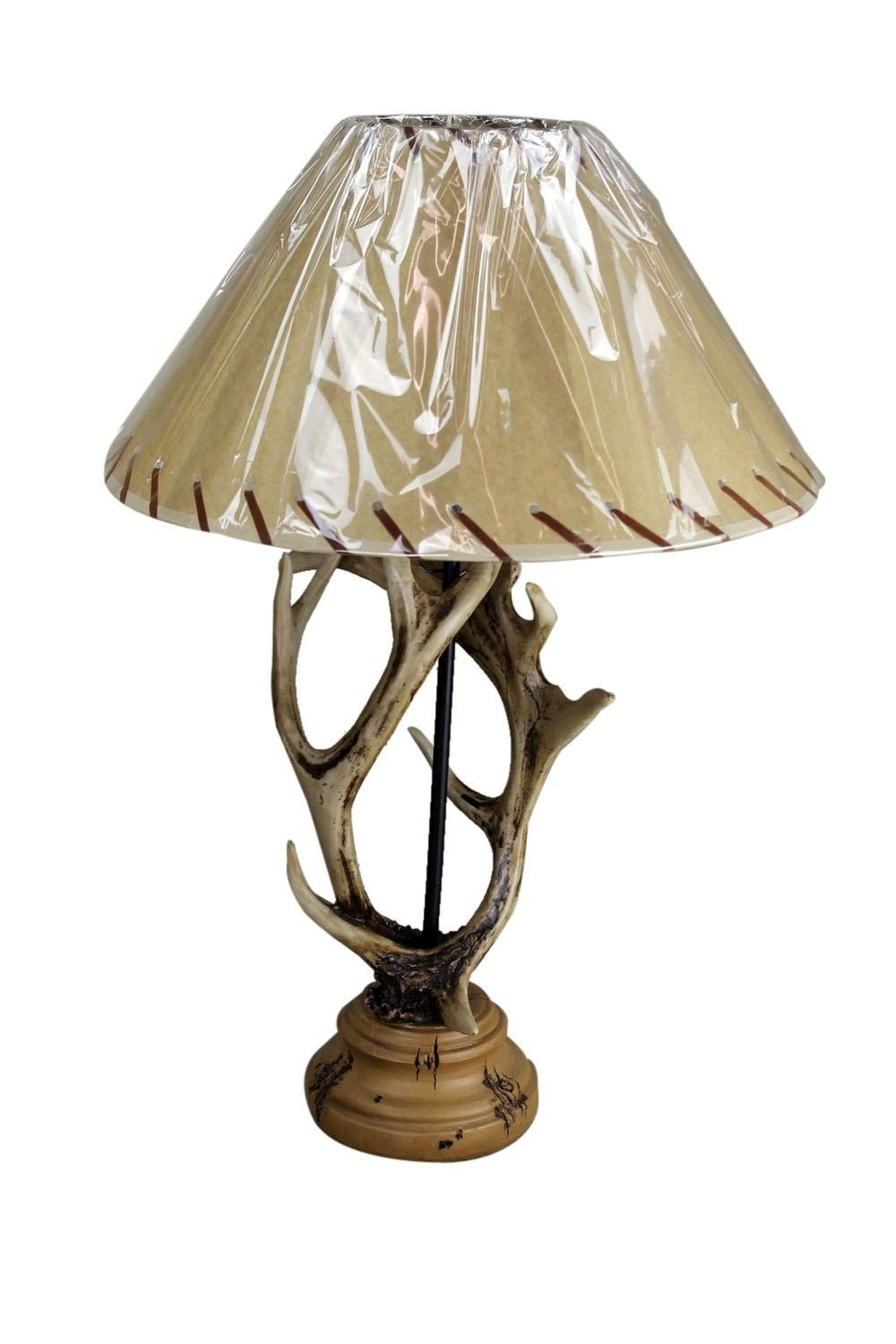 Trendy Antler Table Lamp Jason Miller Floor Vintage