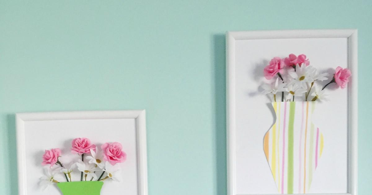 Trendy Chick Diy Spring Wall Decor