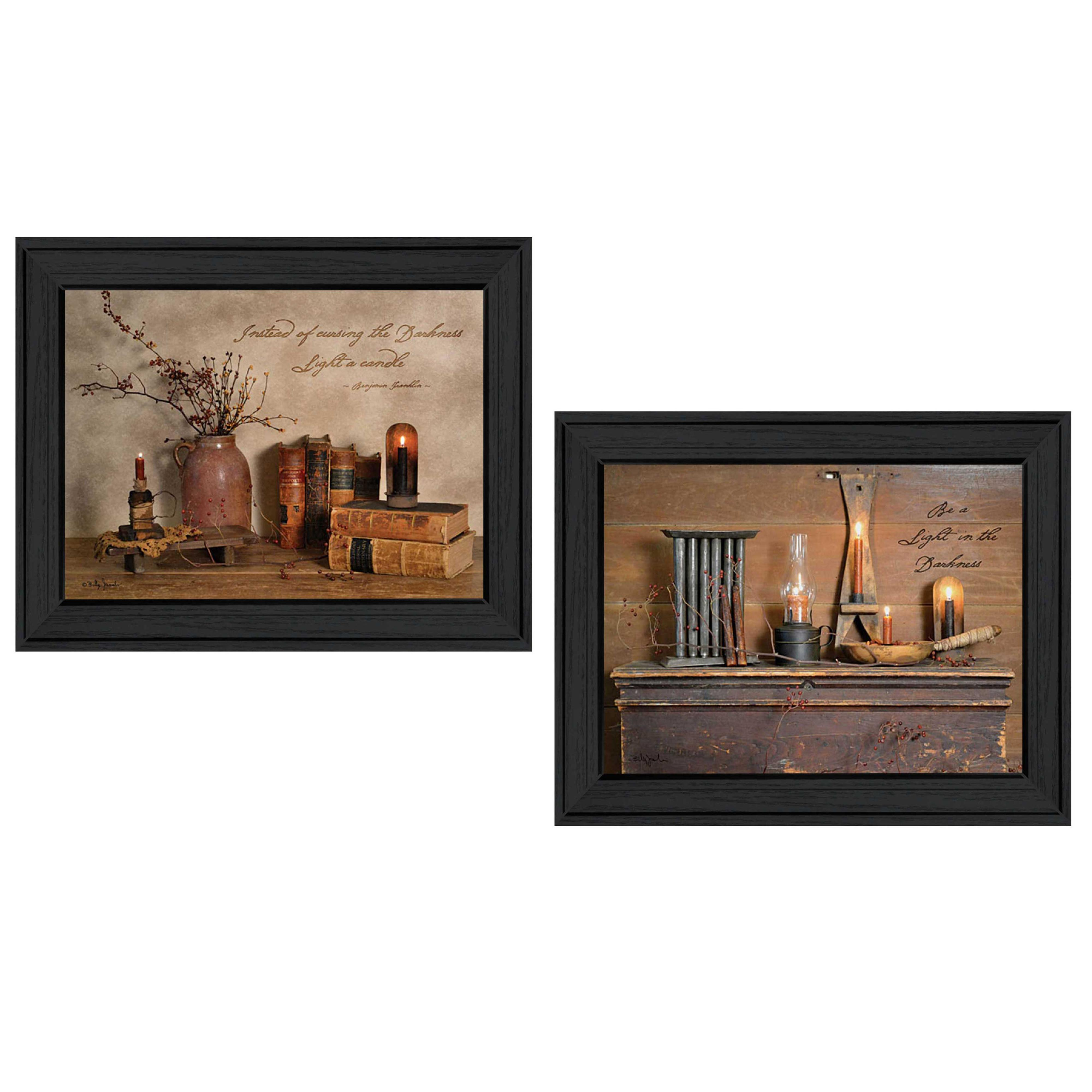 Trendy Decor Candles Billy Jacobs Piece Framed