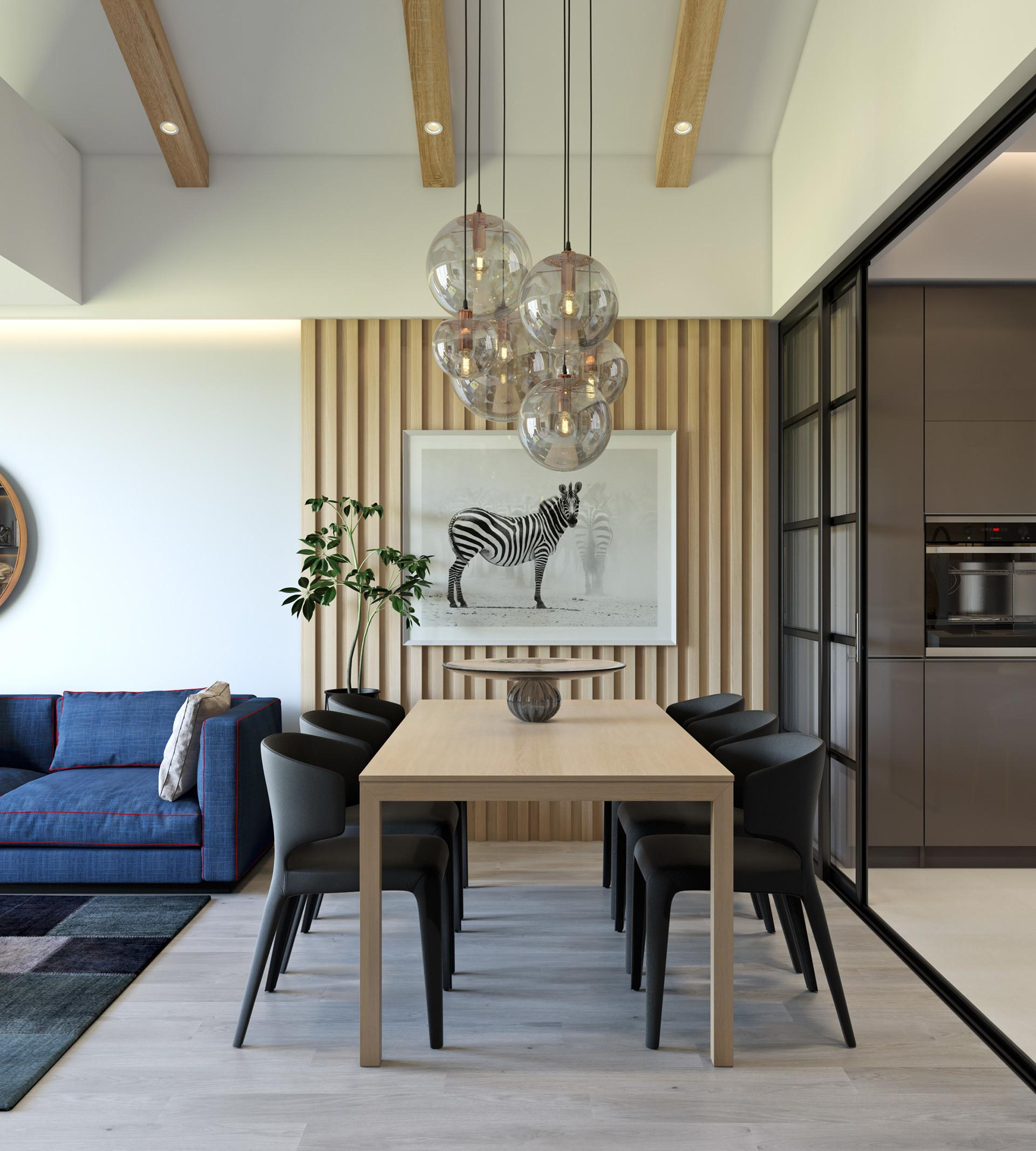 Trendy Dining Room Designs Combined Modern