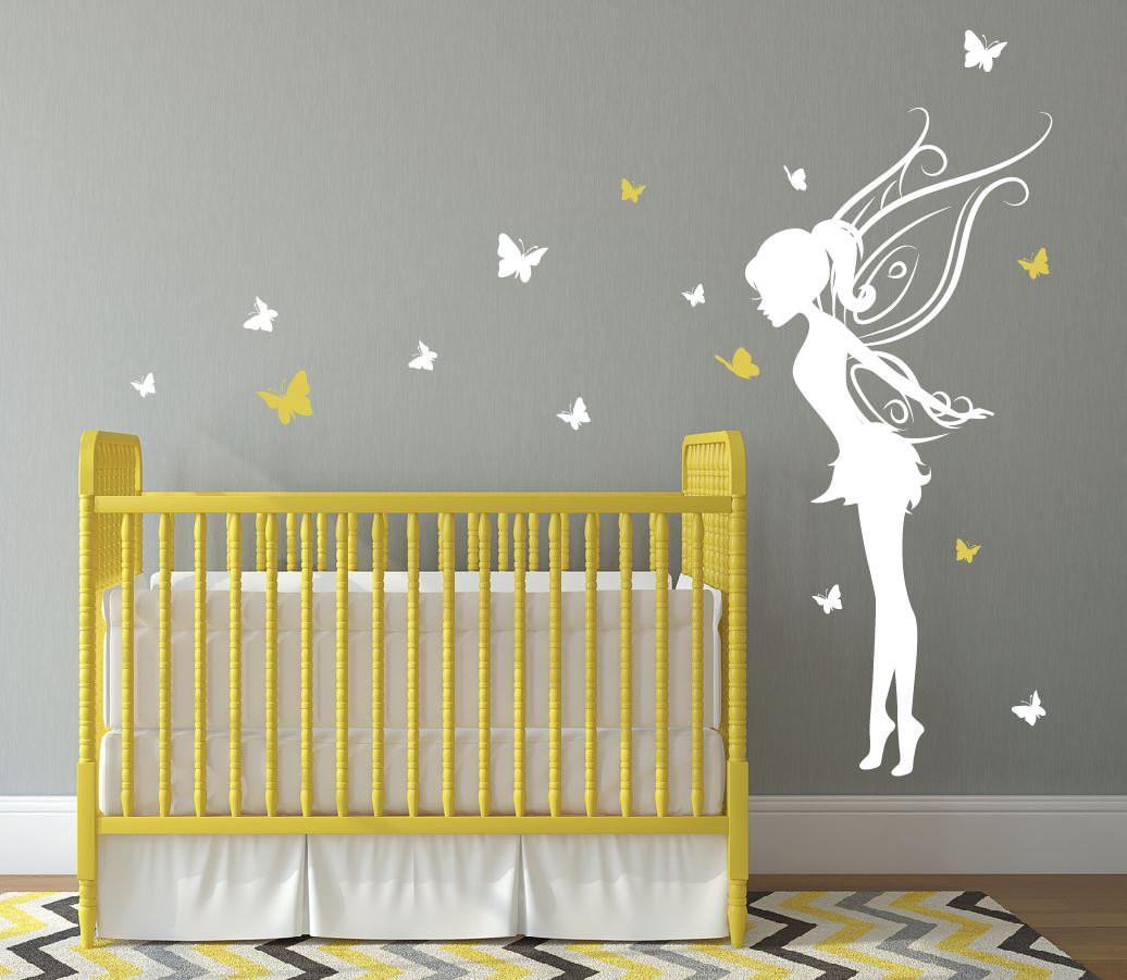 Trendy Fairy Room Decor Baby Bedroom Yellow