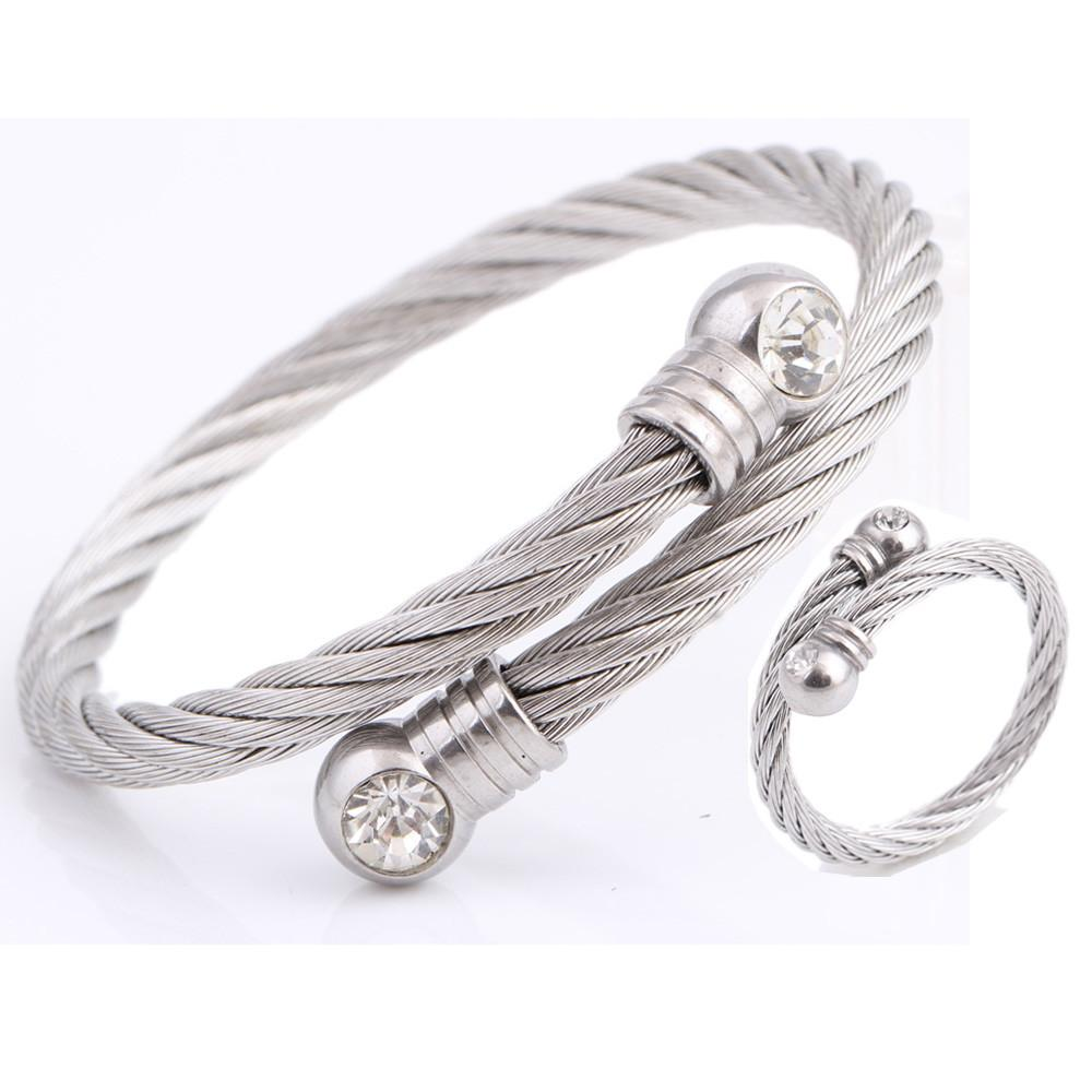 Trendy Jewelry New Fashion Stainless Steel Metal
