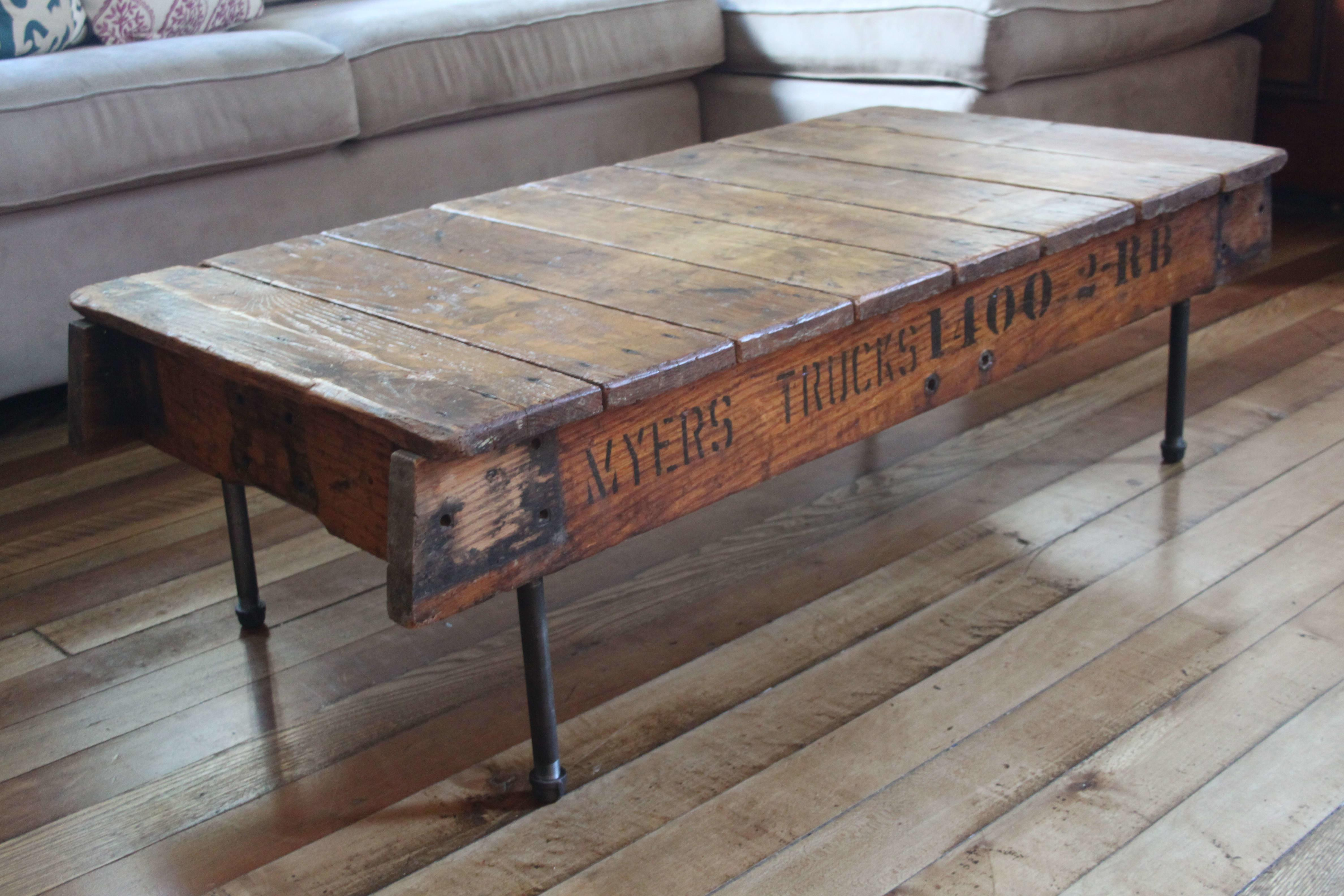 Trendy Reclaimed Wood Coffee Table Design Ideas Iron