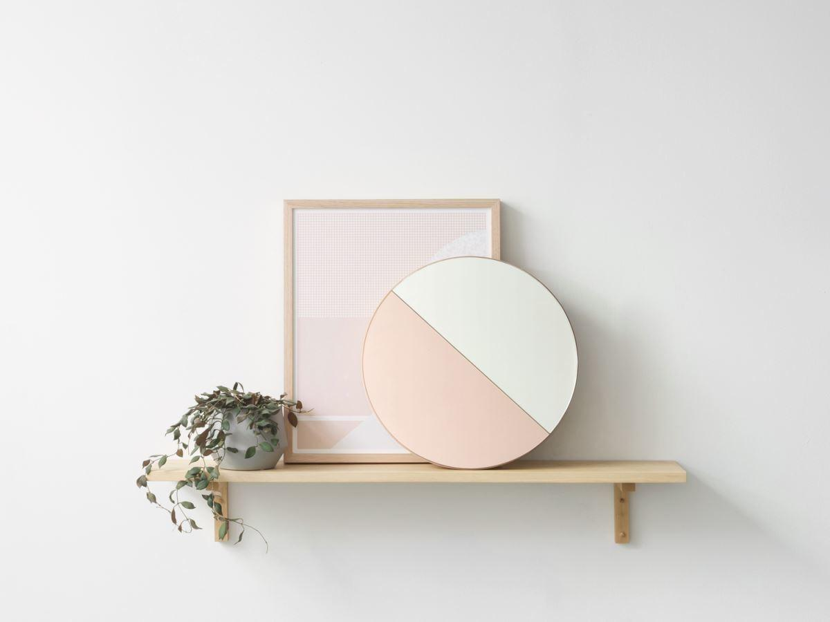 Trendy Reflection Tinted Mirror Style