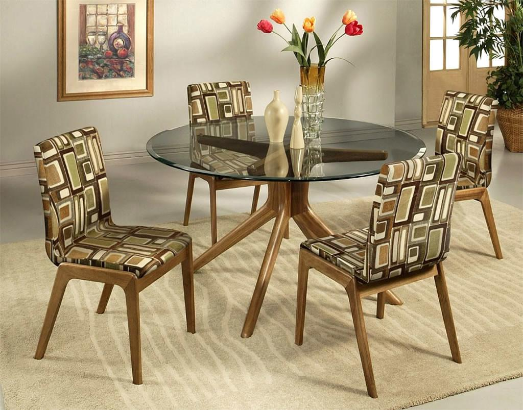 Trendy Special Comfortable Dining Chairs Unique Pattern