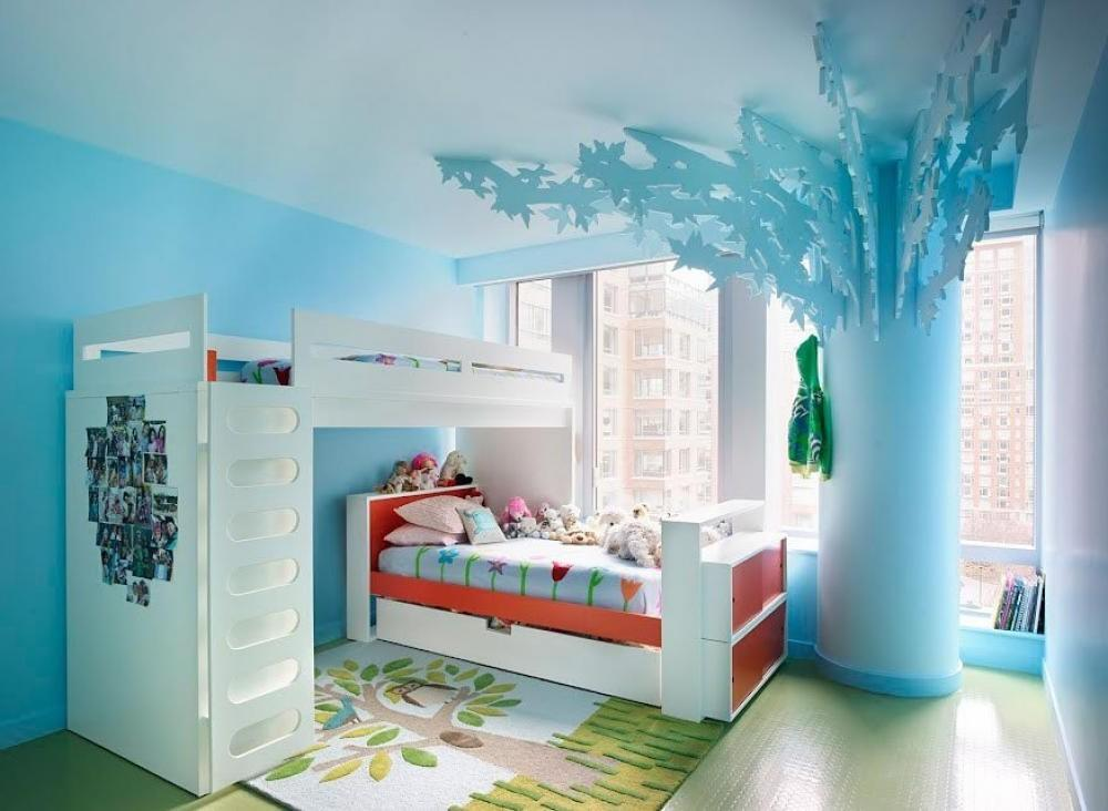 Trendy Themes Color Schemes Kids Bedrooms