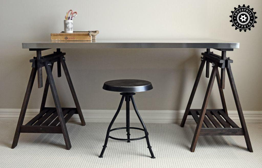 Trestle Table Restoration Hardware Style Prices