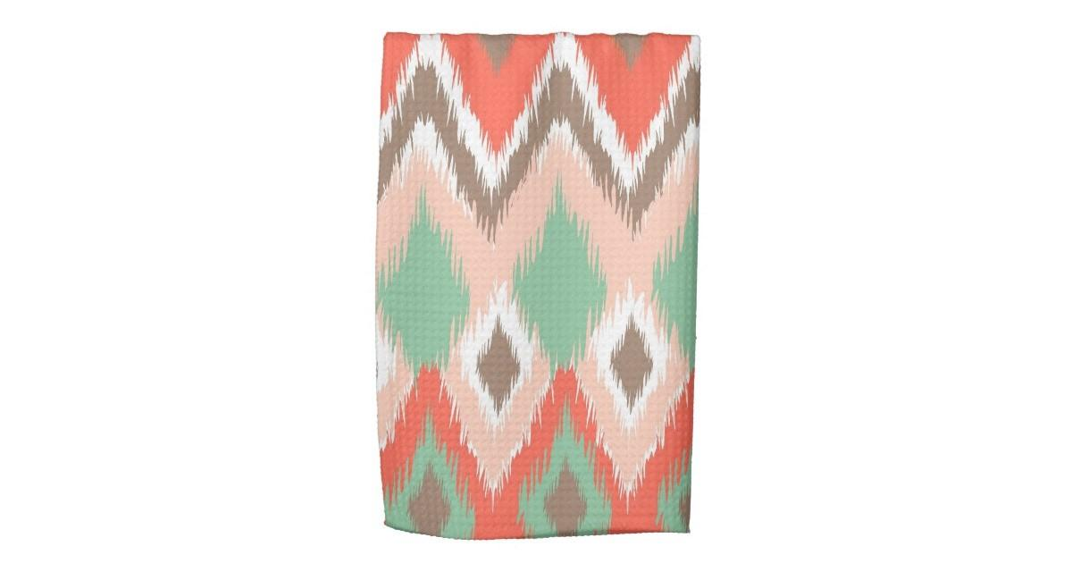 Tribal Aztec Chevron Zig Zag Stripes Chic Pattern Kitchen