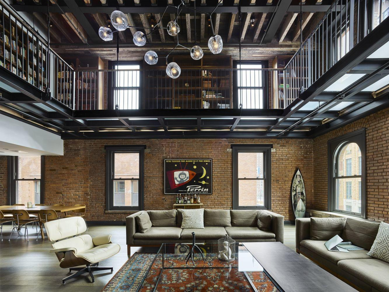 Tribeca Citizen Loft Peeping 000 Square Foot Triplex