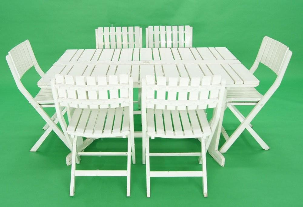 Triconfort French 1960 Outdoor Folding Table