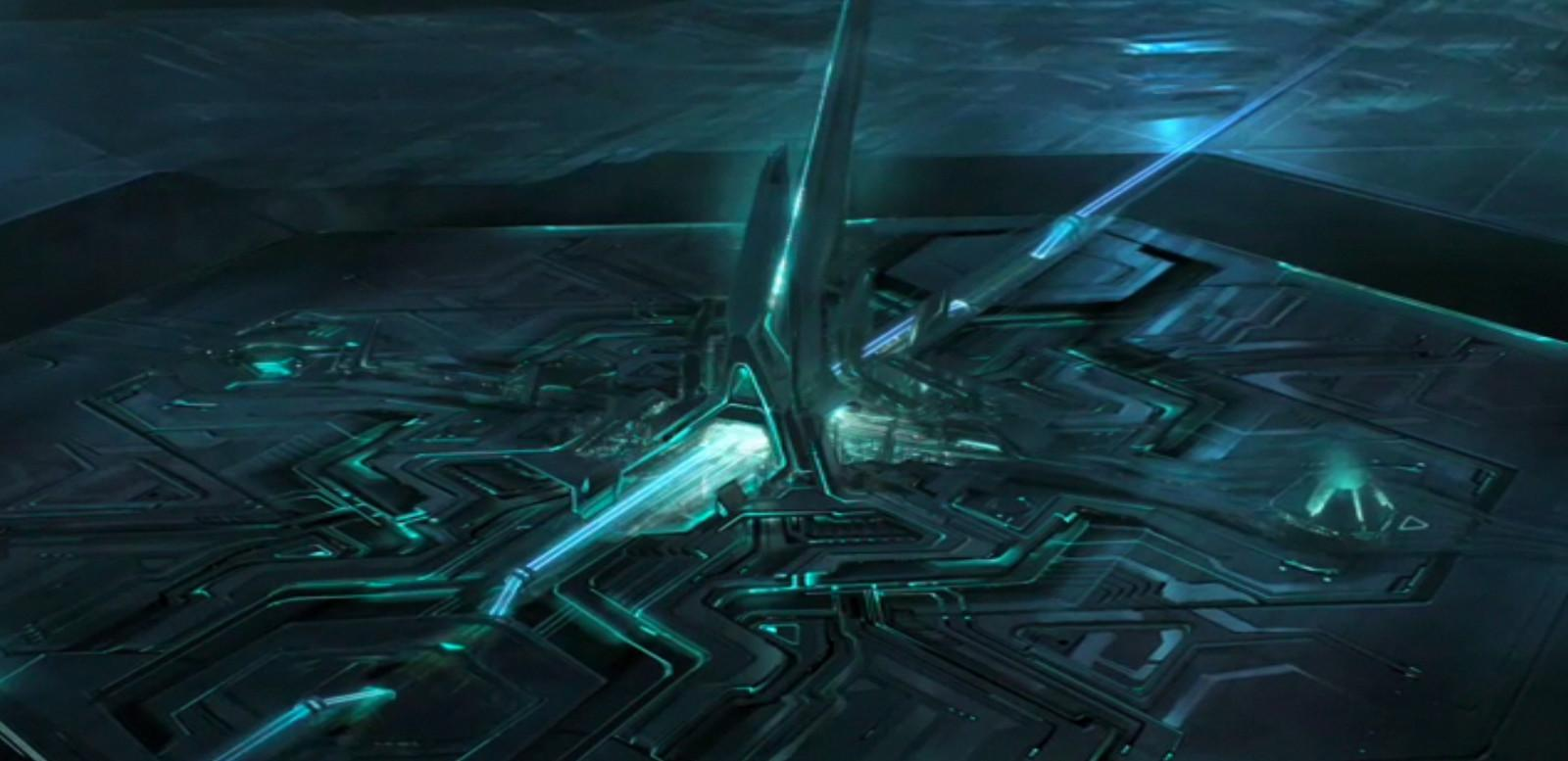 Tron Legacy Conceptual Work Daniel Simon Light