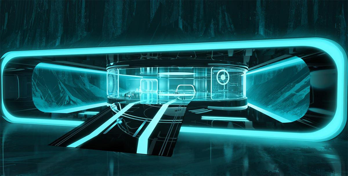 Tron Lives Uprising Art Winzler Theanimationarchive