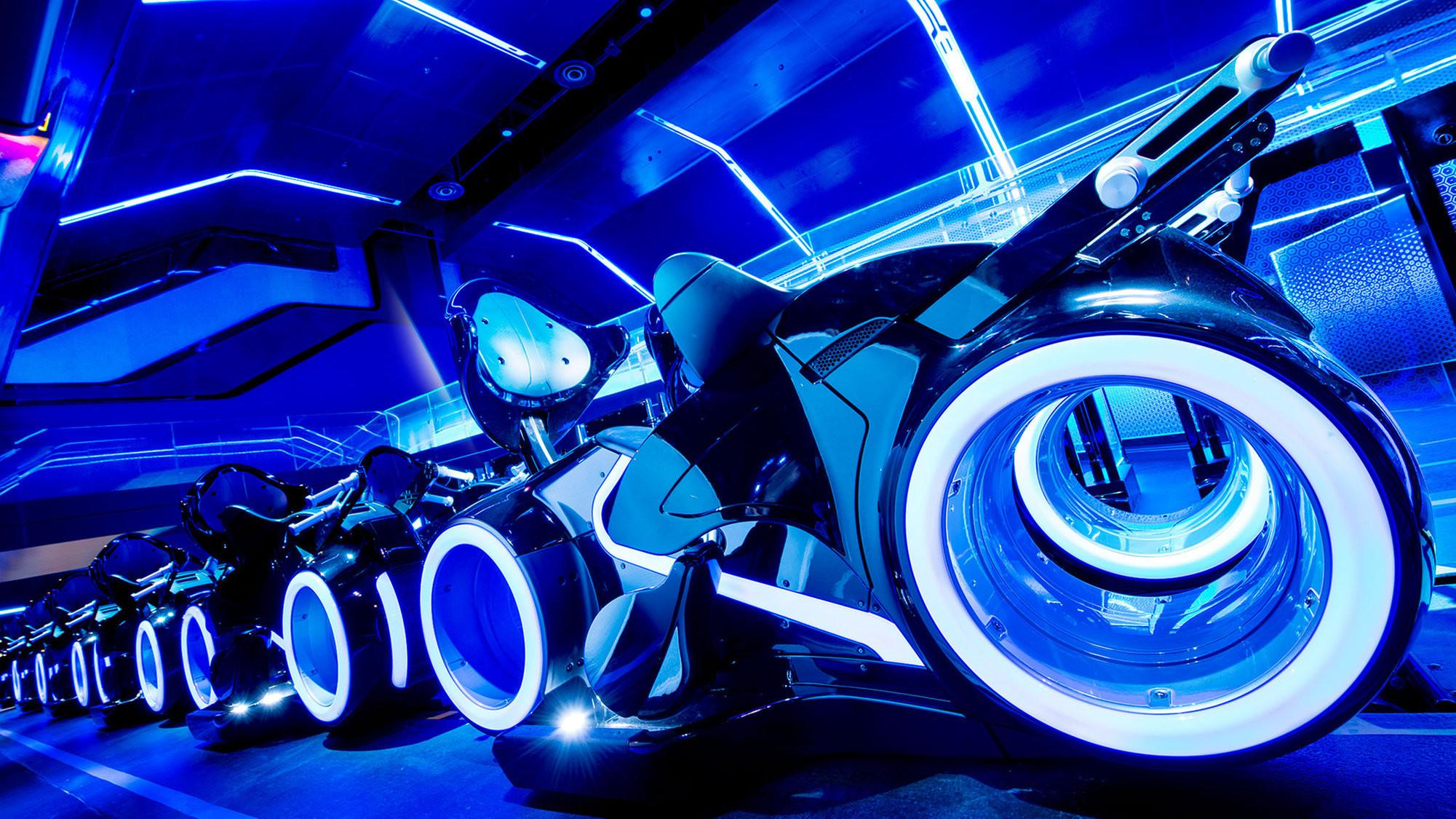 Tron Roller Coaster Replace Tomorrowland Speedway