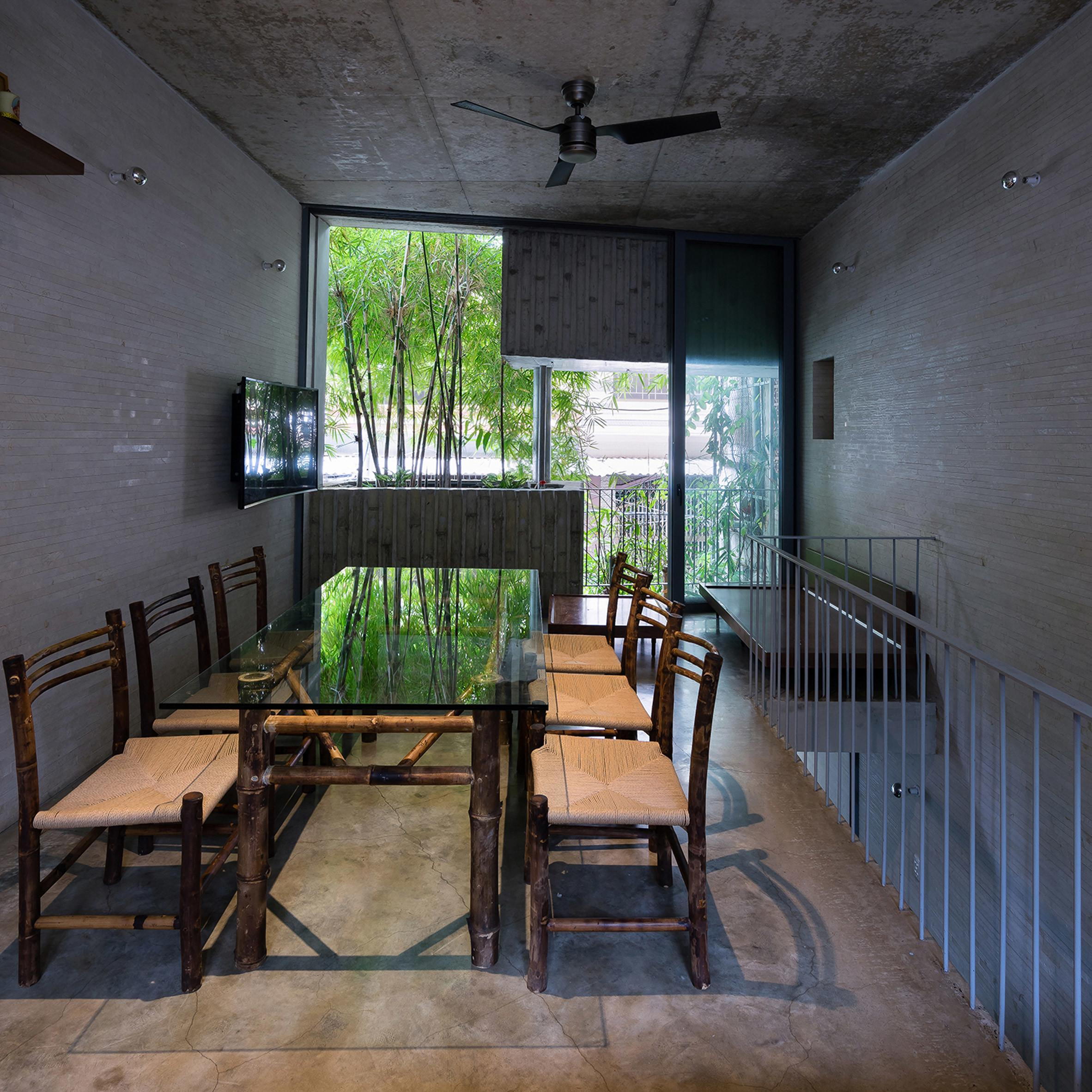 Trong Nghia Fronts Slim House Chi Minh City
