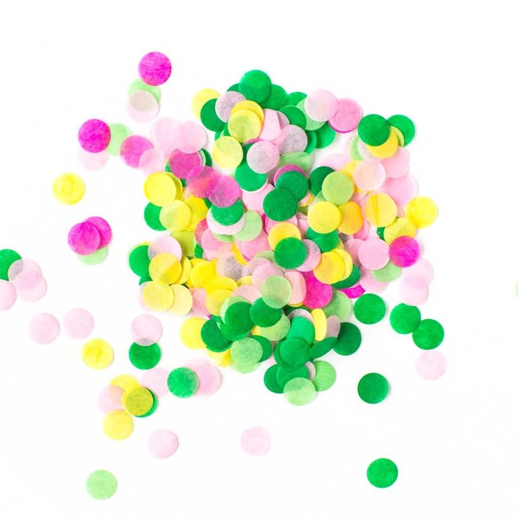 Tropical Artisan Confetti Decorations Party