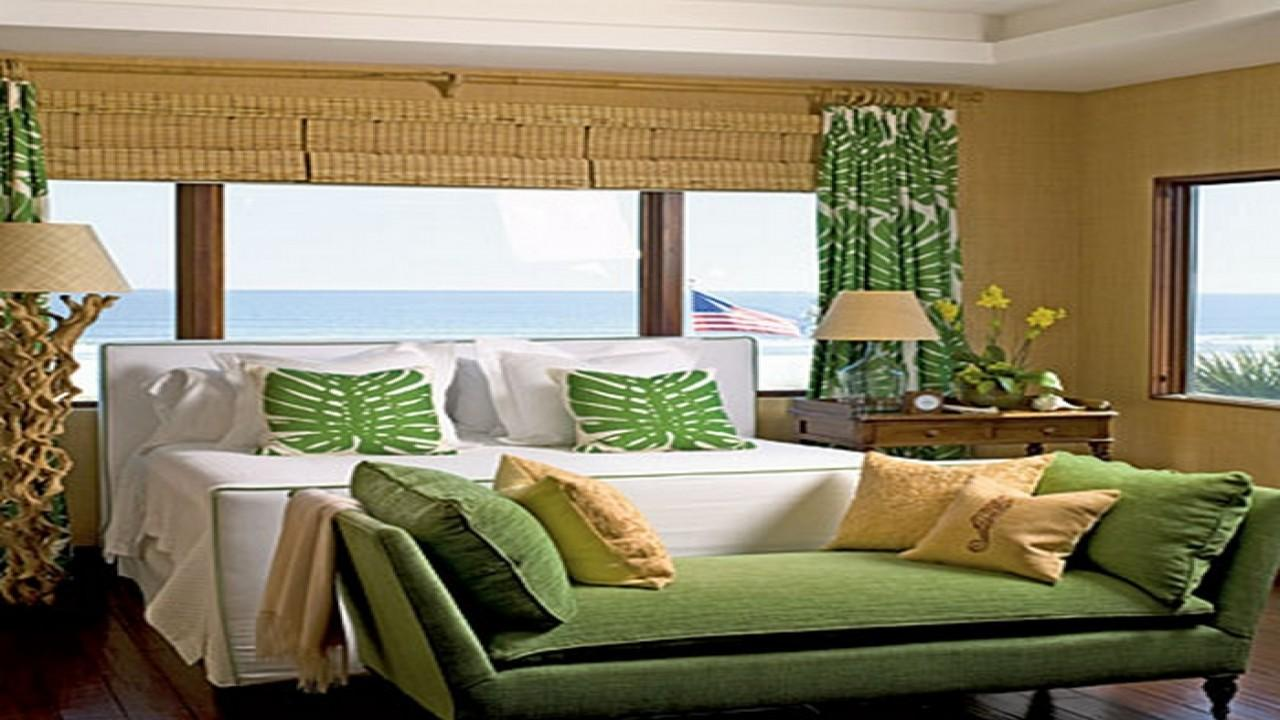 Tropical Decorations Bed Home Decor Ideas