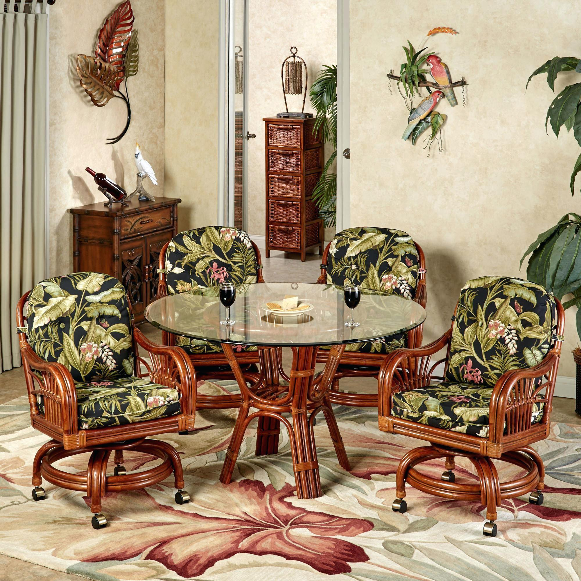 Tropical Dining Room Furniture Anniebjewelled
