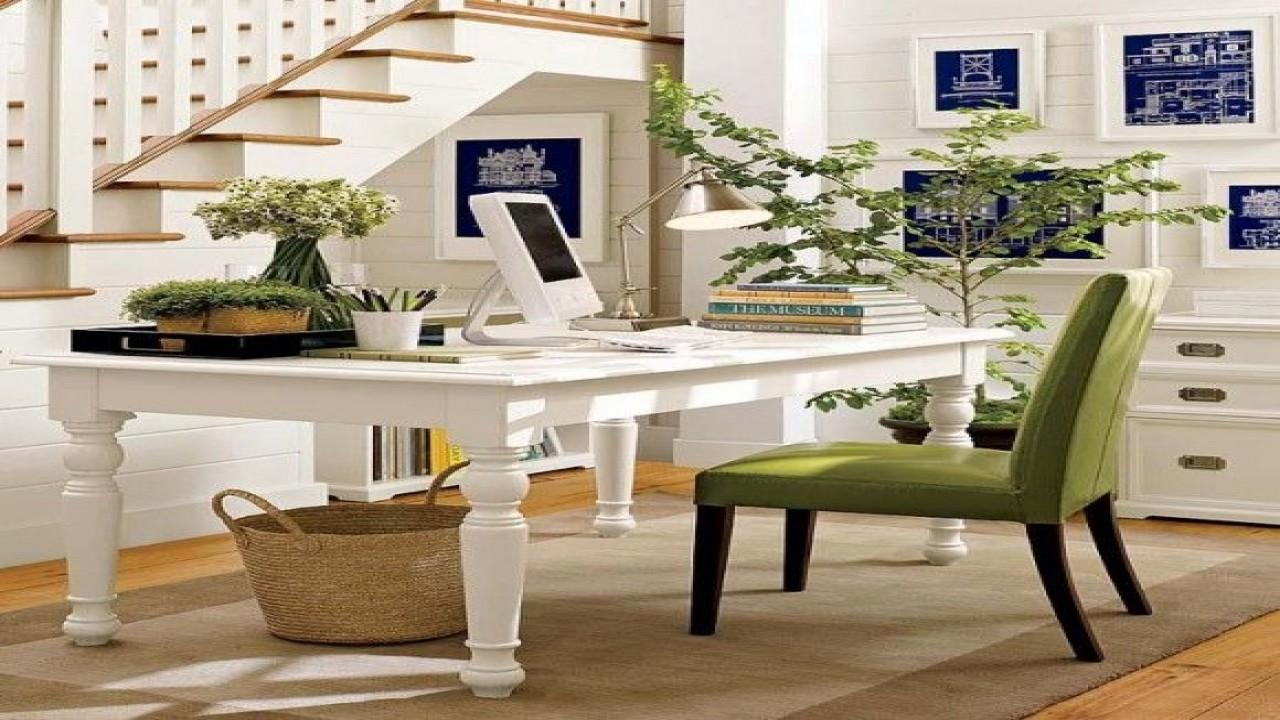 Tropical Home Design Ideas Office Woman
