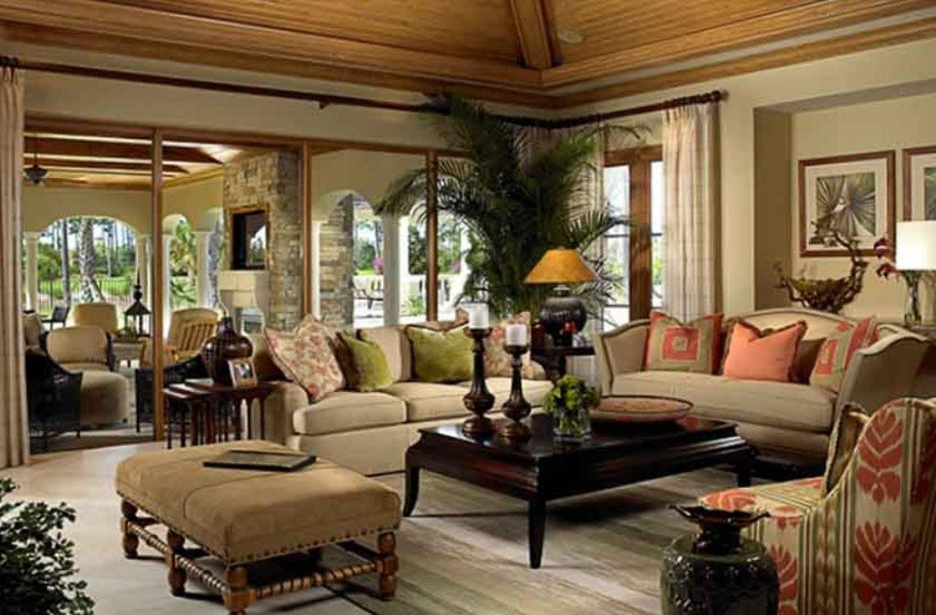 Tropical Living Room Decorating Ideas Modern House