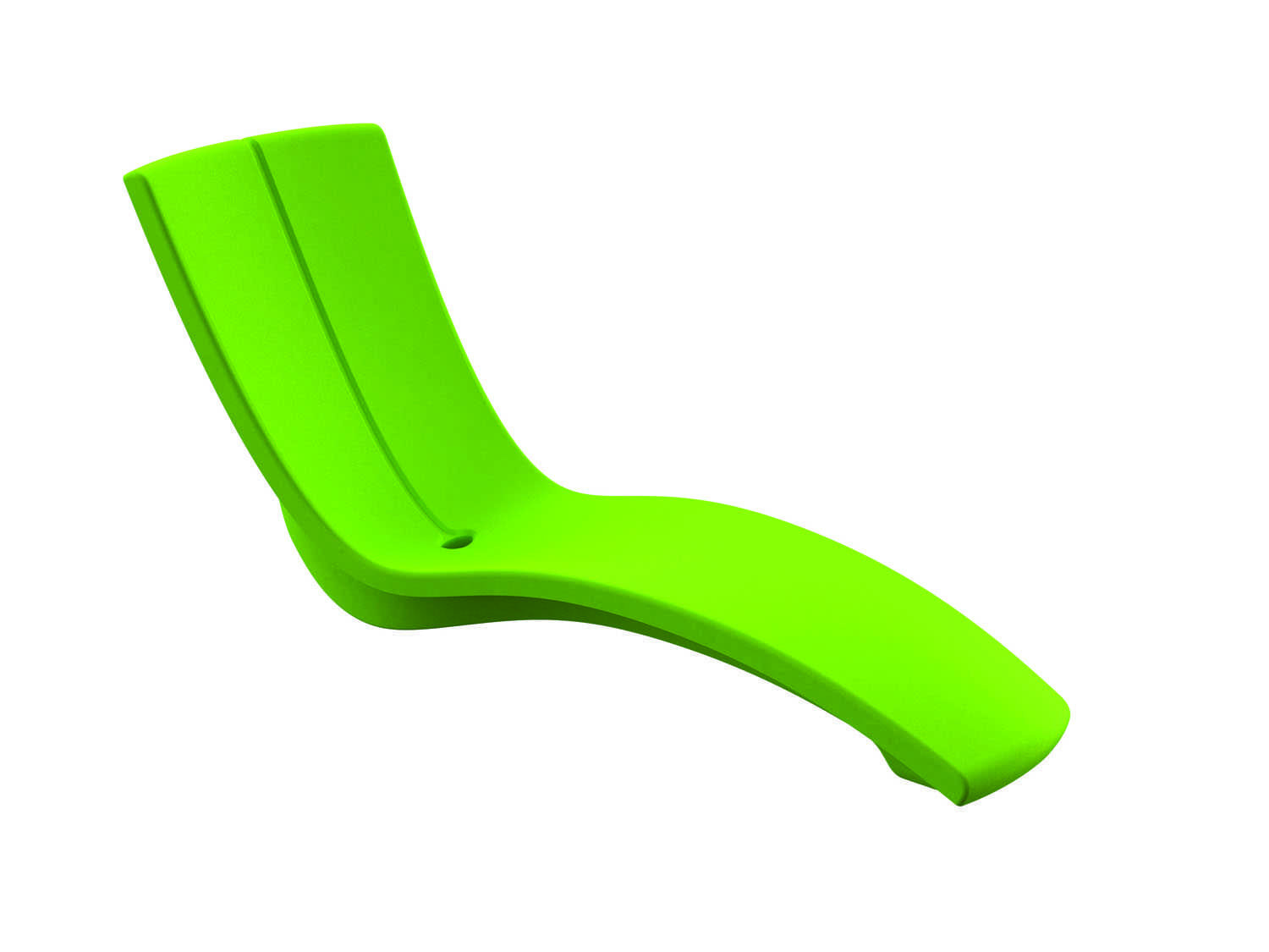 Tropitone Curve Recycled Plastic Rotoform3 Chaise Lounge
