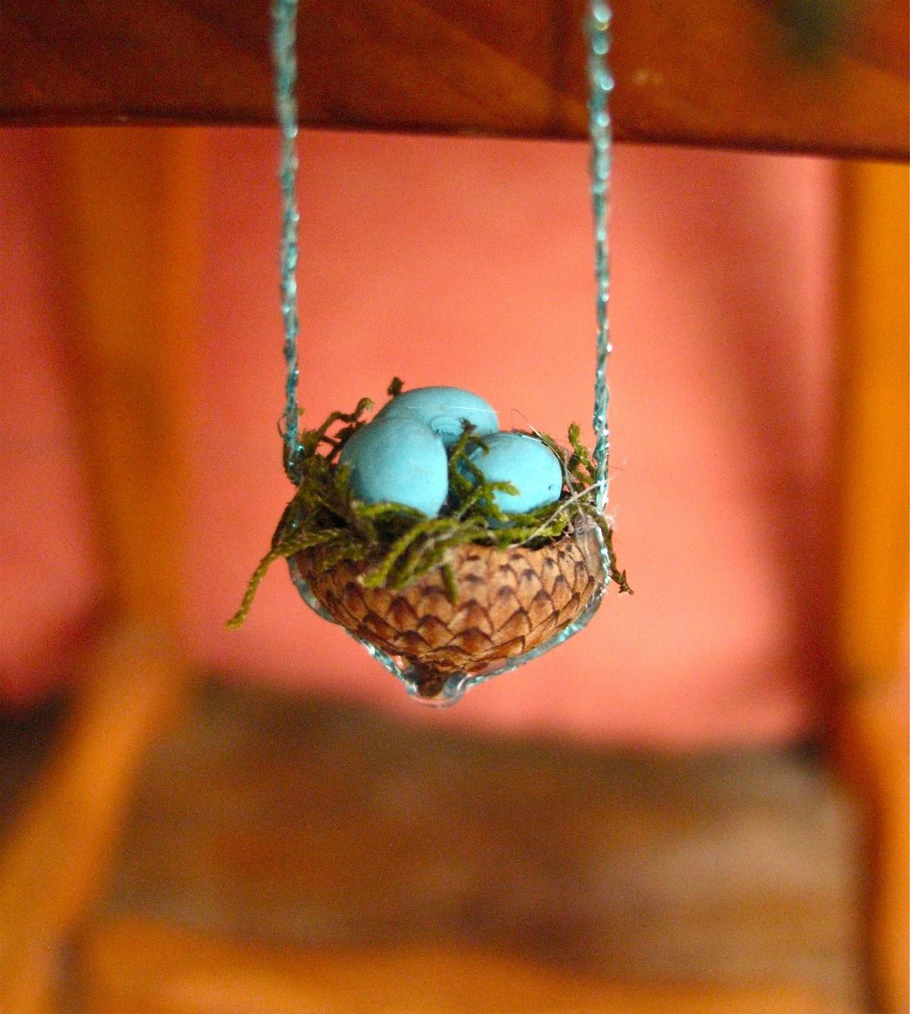 True Blue Diys Creatives Diy Acorn Bird