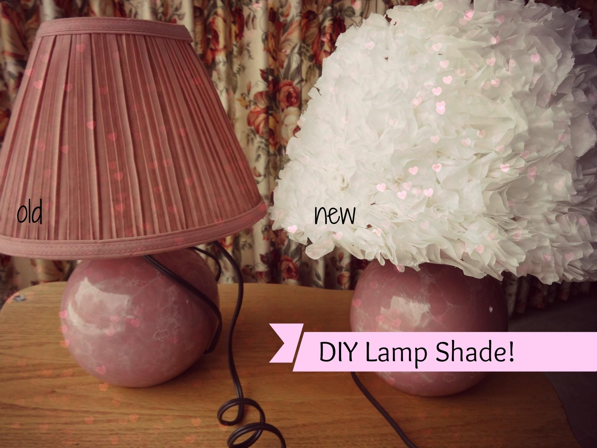 Try Diy Coffee Filter Lamp Shade