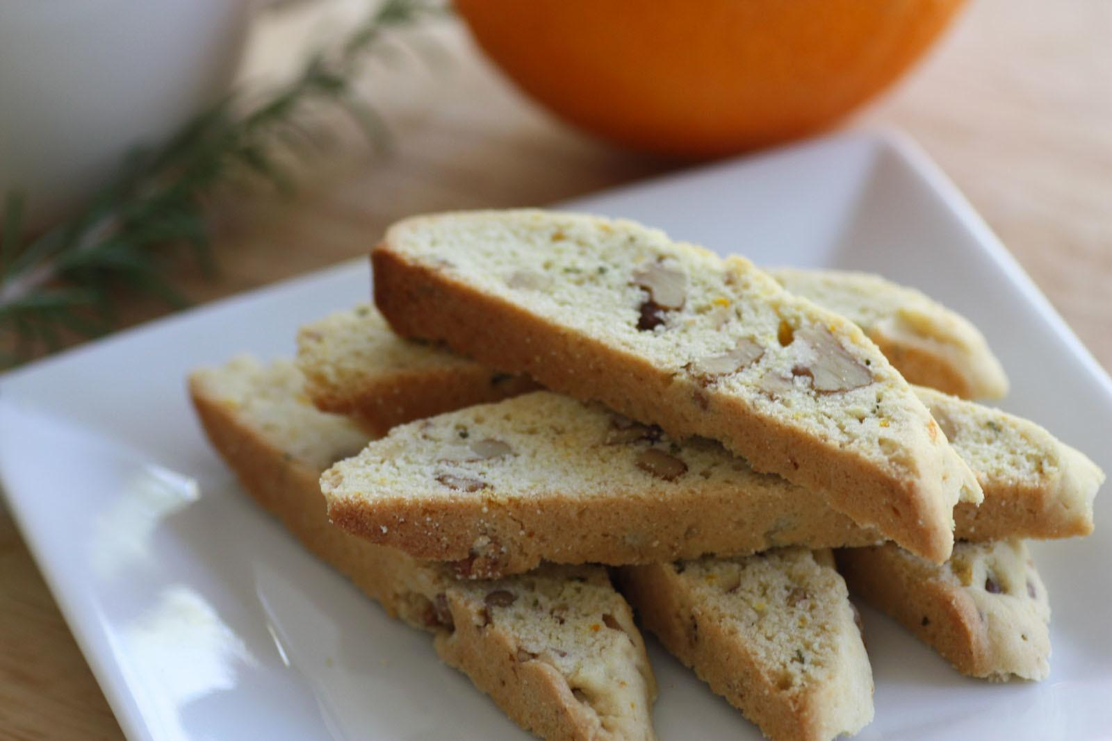 Try New Rosemary Walnut Biscotti Recipe Catch Party