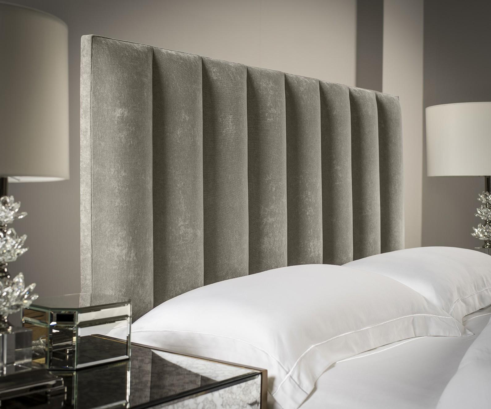 Tubes Vertical Upholstered Headboard
