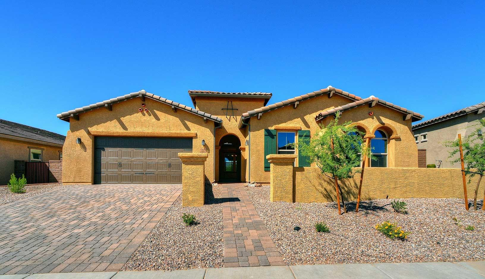 Tucson Home Builders Area New Homes Modern Garden