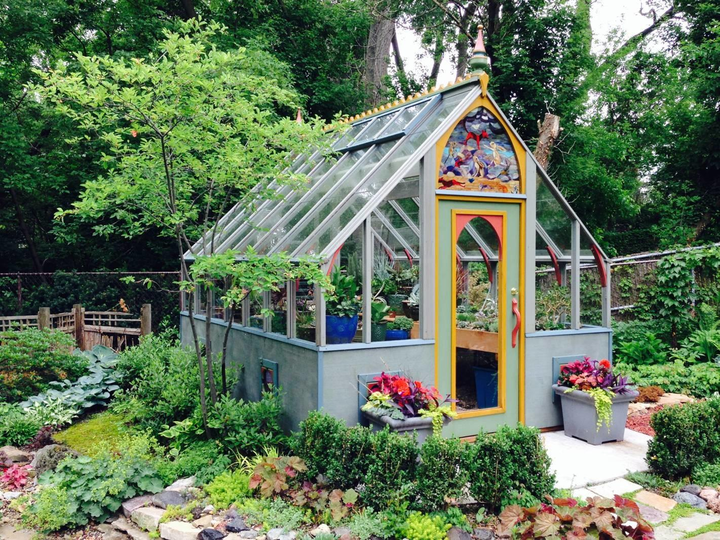 Tudor Colorful Zeck Sturdi Built Greenhouses