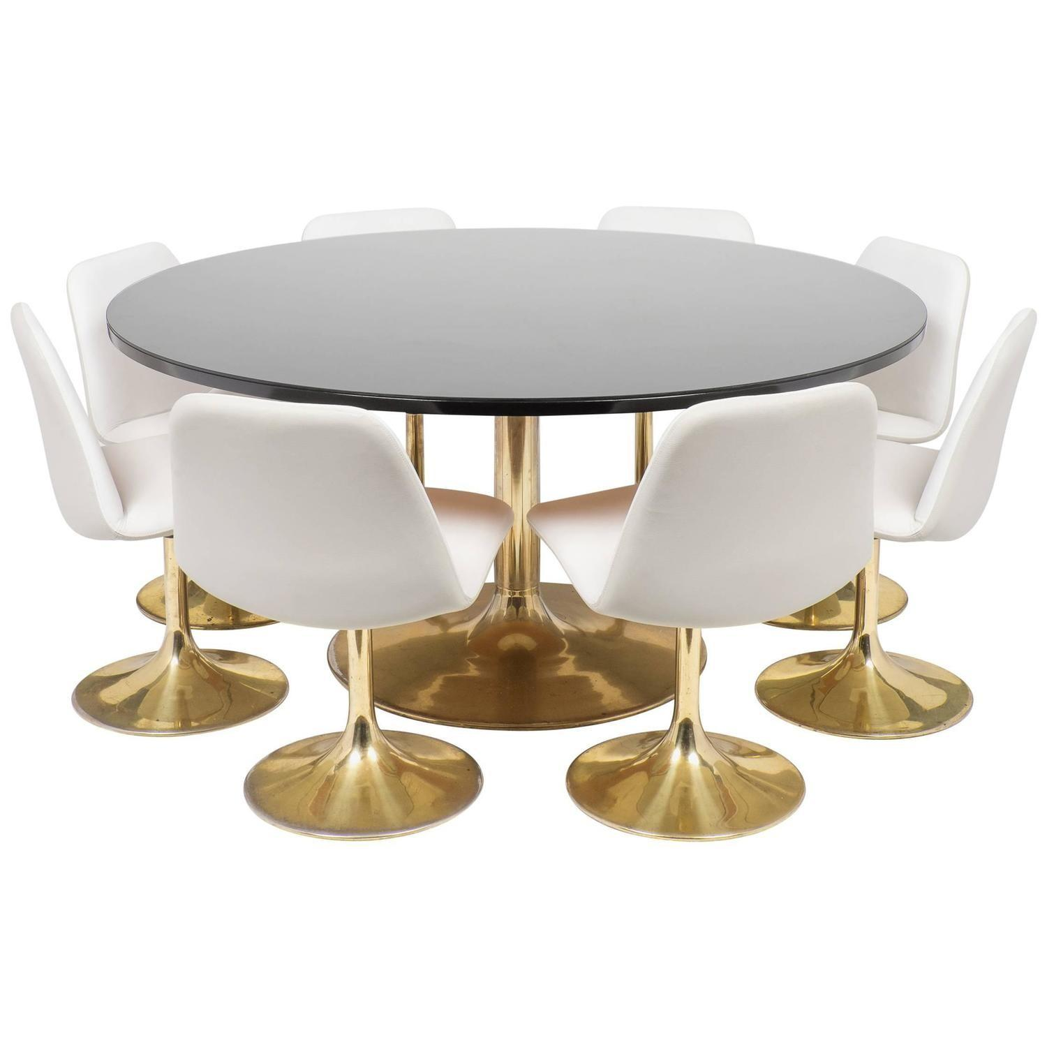 Tulip Table Chair Dining Set 1stdibs