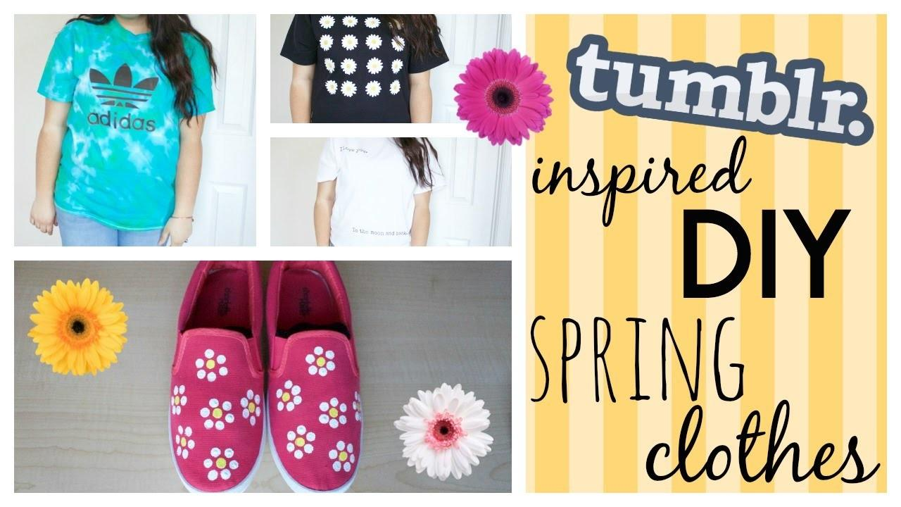 Tumblr Inspired Diy Spring Clothes 2015