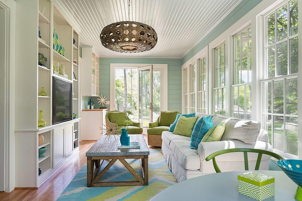 Turn Beach Style Sunroom Into Year Long Family