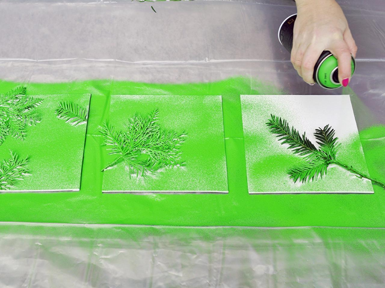 Turn Leaves Foliage Into Diy Canvas Wall Art