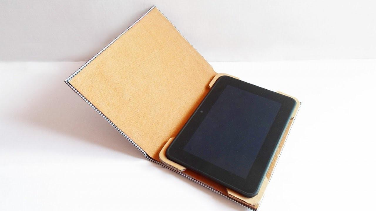 Turn Old Book Into Useful Tablet Case Diy