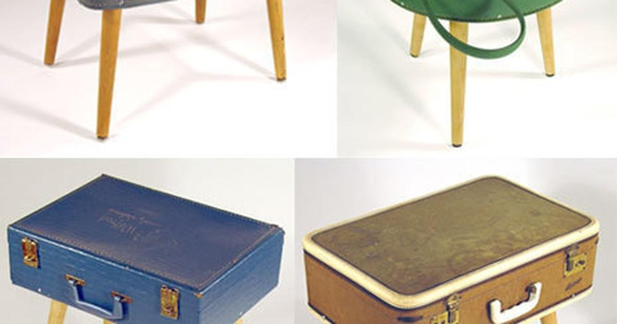 Turn Vintage Suitcases Into Side Tables Curbly