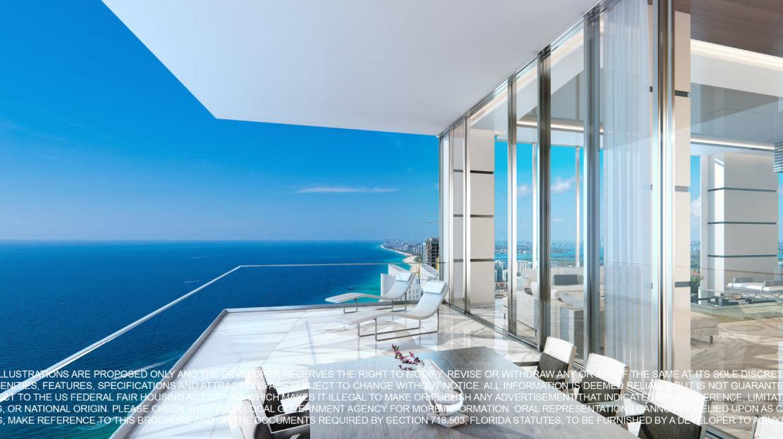 Turnberry Ocean Club Miami Penthouses Sale Sunny