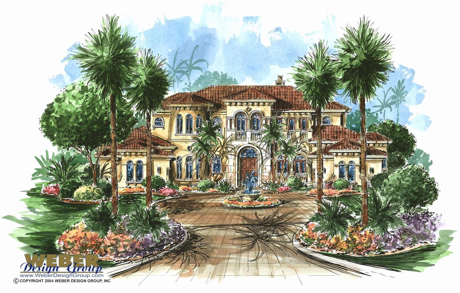 Tuscan Style House Plans Traintoball