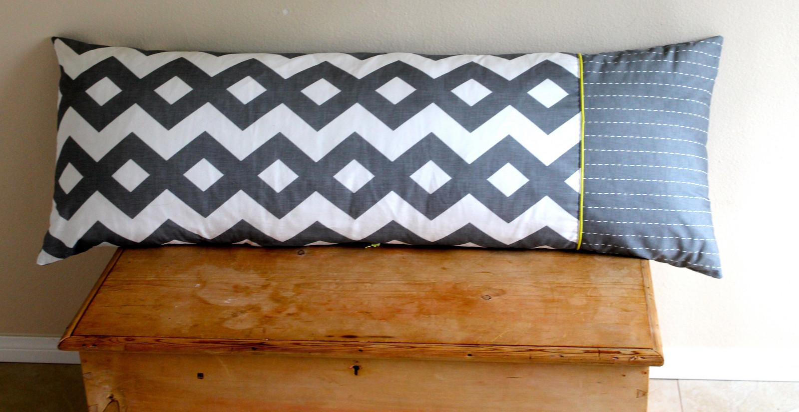 Tutorial Bolster Cushion Cover Spoonflower Blog