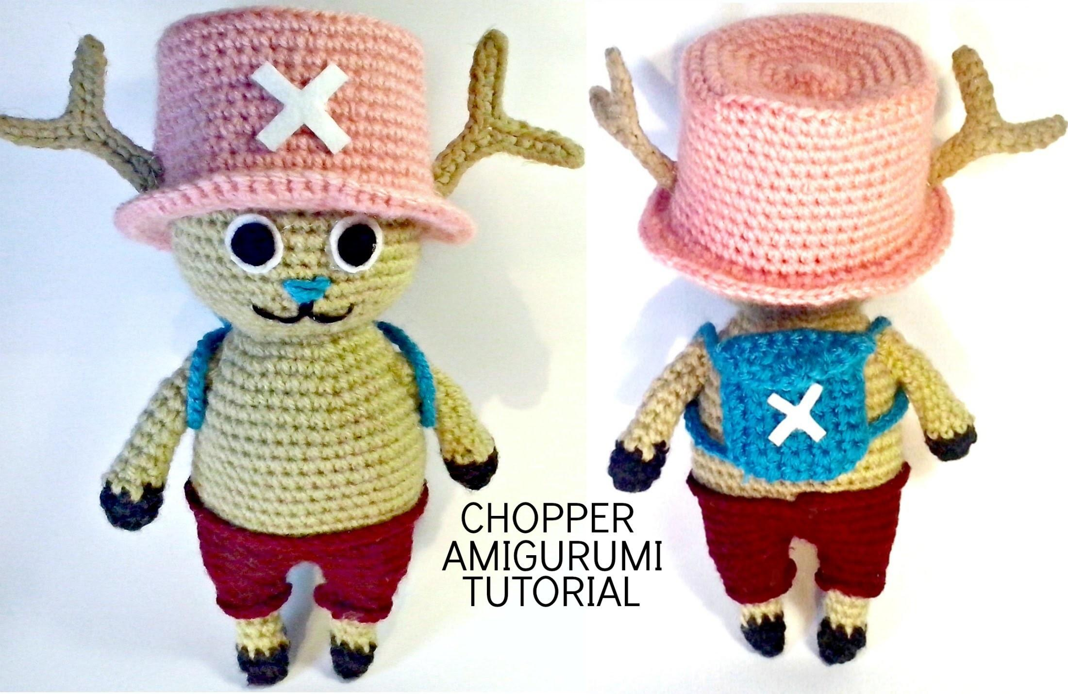 Tutorial Chopper One Piece Amigurumi Crochet