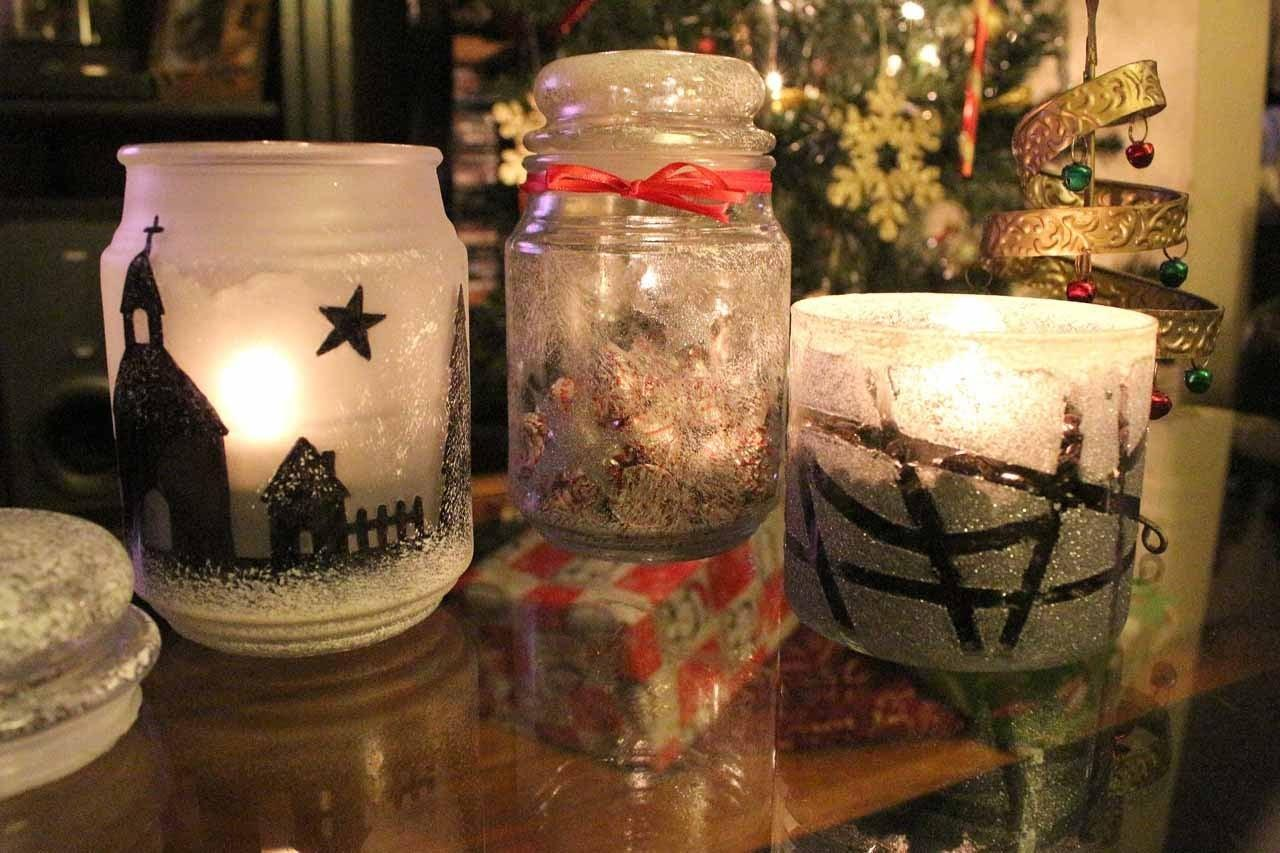 Tutorial Easy Diy Christmas Decor Using Candle Jars