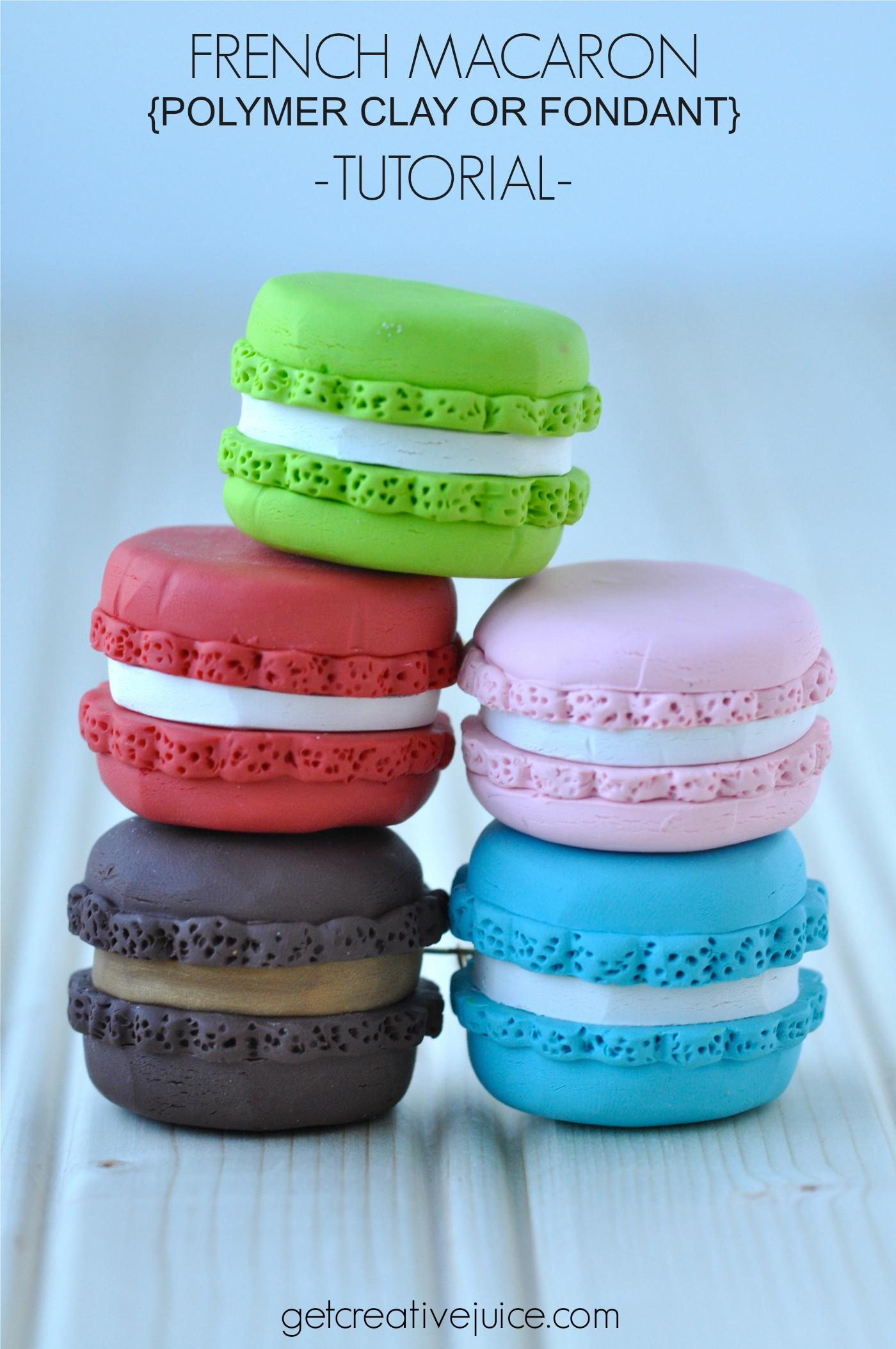 Tutorial French Macaron Ornaments Creative Juice