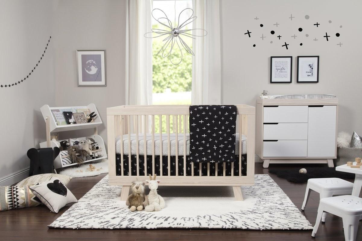 Tuxedo Monochrome Nursery Piece Crib Bedding Set
